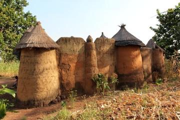 Ein Dorf in Benin