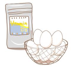 ビタミンB2サプリメントと成分