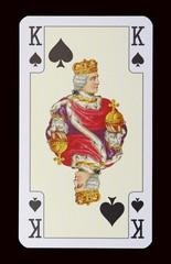 Spielkarten der Ladys - Pik Königin
