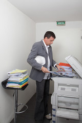photocopieur en folie