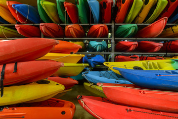 close up of  Kayaks for Rent