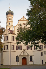 Sankt Magnus Barocke  Klosterkirche Bad Schussenried