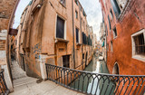 Homes of Venice along city canals