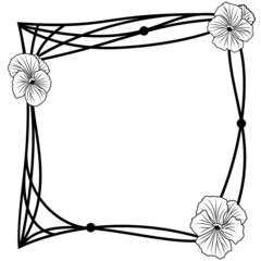 pansy frame
