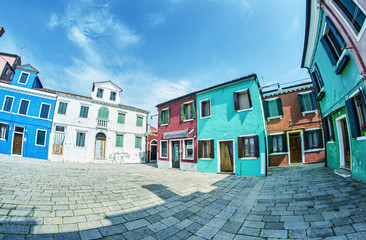 Colourful Homes of Burano - Venice, Italy