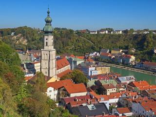 Burghausen / Bayern / Deutschland