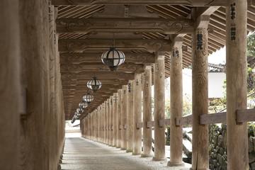 奈良長谷寺の登廊