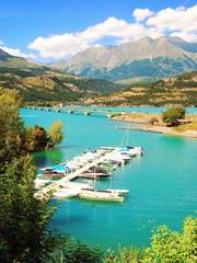 Port de plaisance de Savines-le-Lac