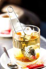 Tee in der kalten Zeit