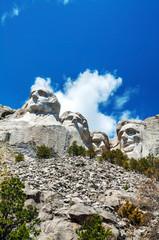 Mount Rushmore monument in South Dakota