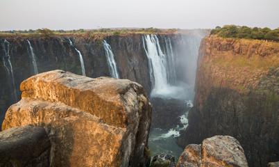Victoria Falls, View of Zambia side from Zimbabwe