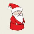 Weihnachtsmann-Figur