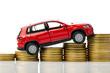 Auto auf Münzen