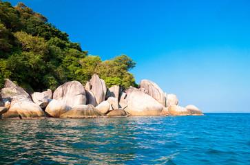 Big Stones Blue Seascape