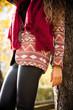 canvas print picture - autumn fashion details