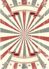 kraft paper retro poster