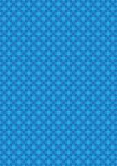blue Geometric Pattern iv001