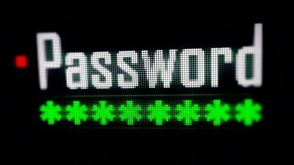 Login Box - Username and Password