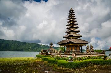 Ulun Danu Bratan , Temple on the lake , Bali , Indonesia