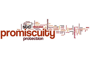 Promiscuity word cloud