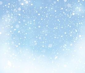 Snow theme background 9
