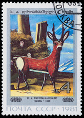 painting Deer