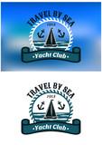 Yacht Club emblem or badge