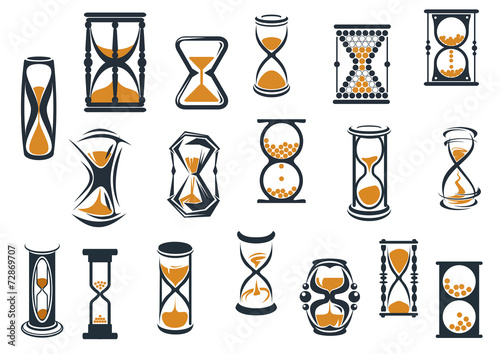 Hourglasses and egg timers set - 72869707