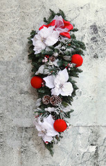 Frosty decoration