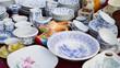 Leinwanddruck Bild - China ware