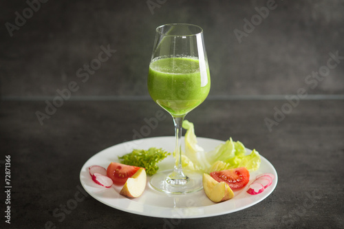 canvas print picture Green Smoothie