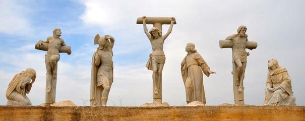 Jesus Crucifixion Statue