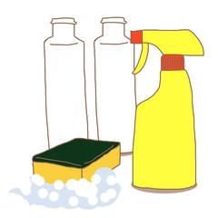 お風呂掃除セット