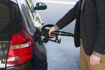 car fueling diesel