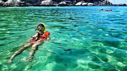 Holiday snorkeling