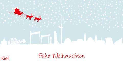 Weihnachtskarte Kiel