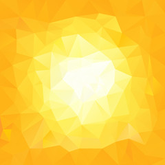vector polygonal background triangular design in yellow colors