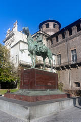 Cityscape  of Turin Piedmont Italy