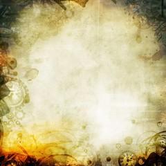 melancholy seipa autumn background illustration