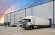 Cargo Transportation - Truck in the warehouse - 72877780