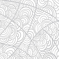 Neutral  handmade background from lines in vector