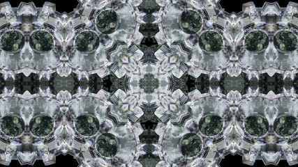 Looping Kaleidoscope Patterns