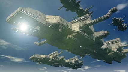 3d UFO concept design