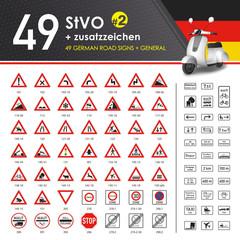 49 StVO + Zusatzzeichen #2