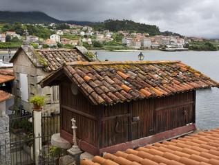 Horreo en Combarro. Pontevedra