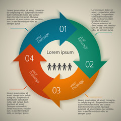 business-style-template-presentation-arrows-circle