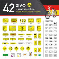 42 StVO + Zusatzzeichen #5