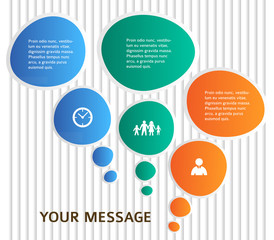 infographics-template-page-flyer-background-strips