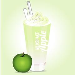milkshake apple