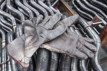 guanti di operai